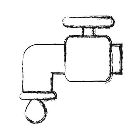 Water faucet icon.