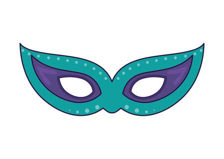 Illustration pour Mask design, Party celebration event happy birthday holiday surprise anniversary and decorative theme Vector illustration - image libre de droit