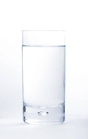 water in a glas