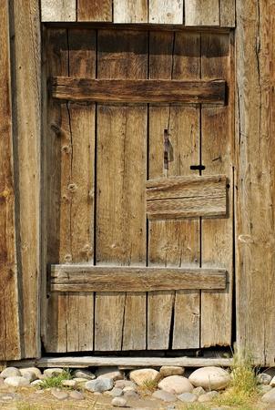 Rustic Barn Wood Door