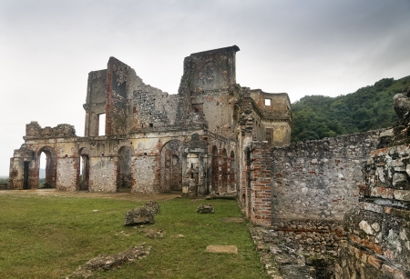 Ruins of Sans-Souci Palace at Milot, Haiti