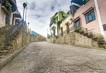 Historic Street at Colonial Zone, Sto Domingo, Dominican Republic