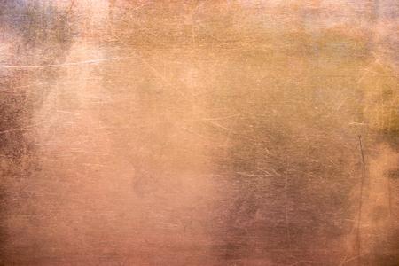 Foto de pattern copper or bronze, non-ferrous metal texture - Imagen libre de derechos