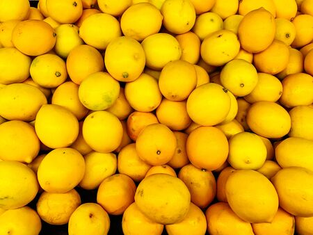 Photo for yellow lemon citrus for eating like a background - Royalty Free Image