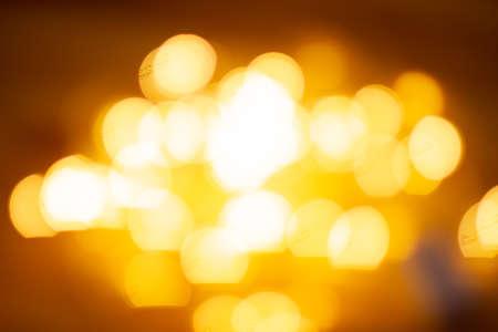 Photo pour Abstract warm bokeh light. Defocused background lights. - image libre de droit