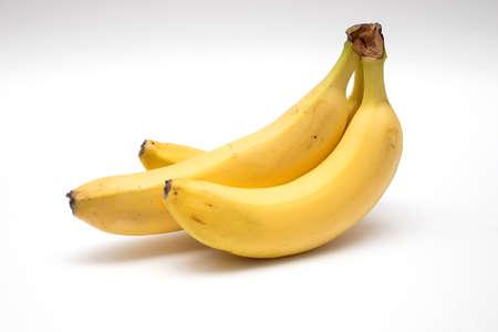 Photo for Bunch of fresh ripe yellow bananas. - Royalty Free Image