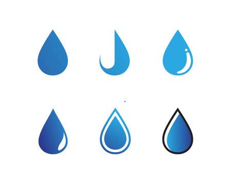 Illustration pour water drop Logo Template vector illustration design - image libre de droit