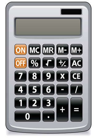 illustration of business calculator
