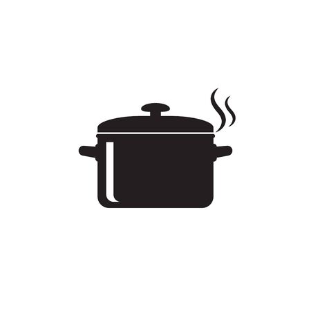 Illustration for Cooking pan icon, Pot icon vector isolated - Royalty Free Image