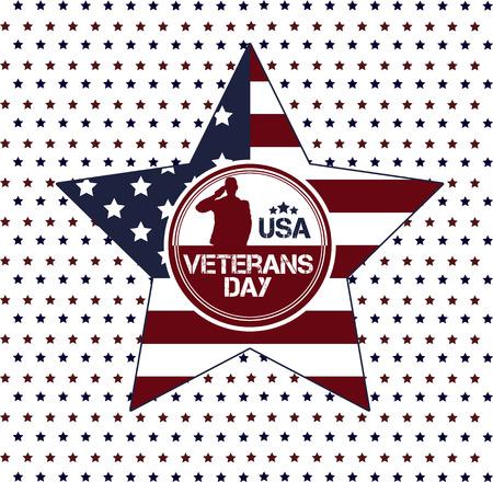 Vietnam war. Remembrance day. Vector illustration Patriotic card