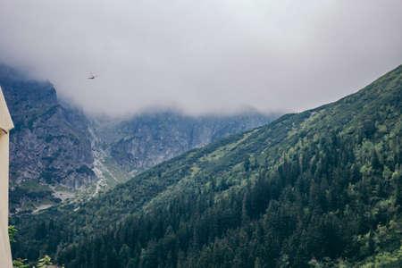 Photo pour A large mountain in the background - image libre de droit