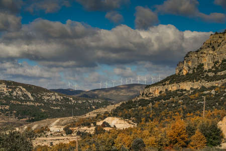 Morella is a town and municipality in Spain, in the province of Castellon in the Autonomous community of Valencia (Autonomous community). The municipality is a part of the district (Comarca) Los Puertos. November 2007.