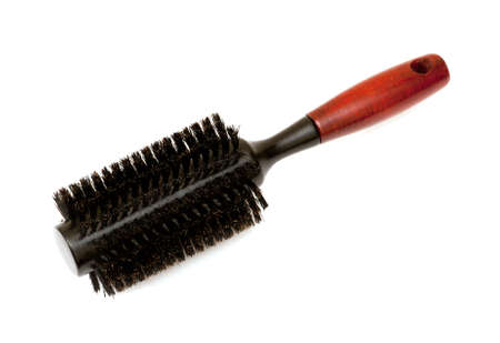 Hair brush isolated on a white background