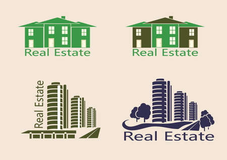 Real estate, icons