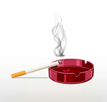 Smoking cigarette .The harm of smoking. It kills the human body