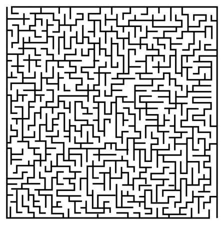 the maze / labyrinth