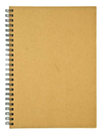 Clear cover of recycle spiral notebook