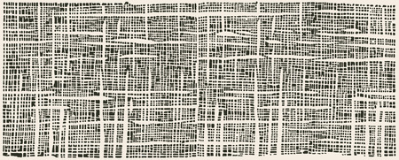 Ilustración de paint brush strokes texture  japanese traditional stencil pattern for texitil - Imagen libre de derechos