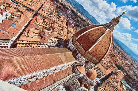 Foto per Duomo Cathedral Santa Maria del Fiore Church Florence - Immagine Royalty Free