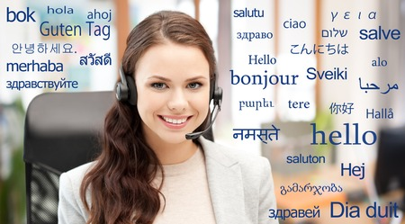 translator over words in different languages