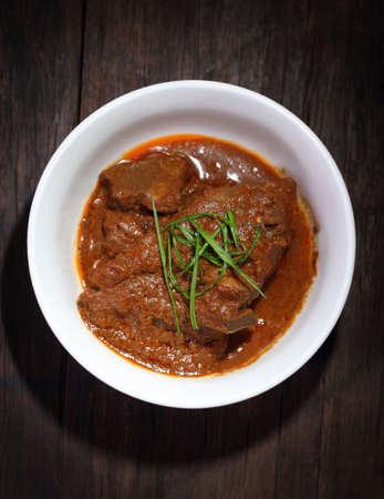 Malaysian style spicy meat dish