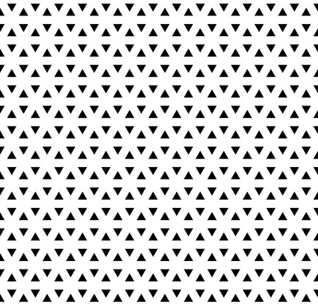 Illustration for Seamless triangle pattern. Geometric modern texture. Abstract vector background. - Royalty Free Image