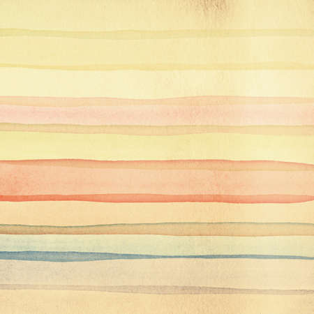 Multicolor Watercolor Stripes