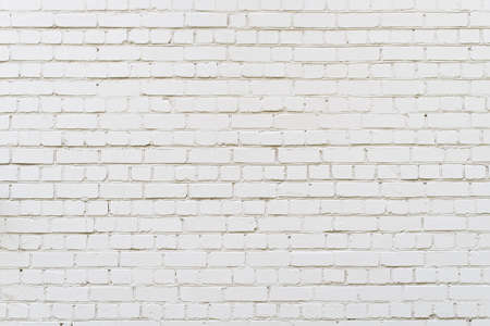 White brick wall background,