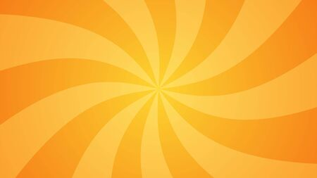 Foto de Orange abstract comic book background. Rays, spiral. The classic gradient. Vector illustration. - Imagen libre de derechos