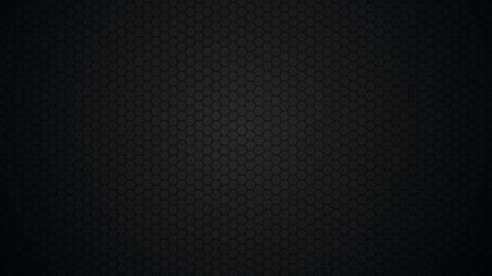 Illustration for Black background, hexagons. Modern black texture.  Vector illustration. - Royalty Free Image