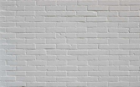 Photo pour brick wall white background texture, from a new construction - image libre de droit