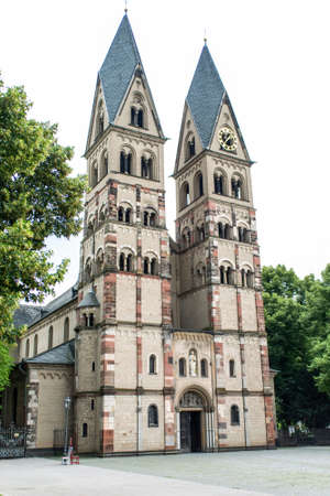 The Basilica of St. Castor oldest church in Koblenz German state of Rhineland Palatinate, close to the Deutsches Eck.