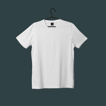 Photo pour Realistic T-Shirt mockup template - image libre de droit