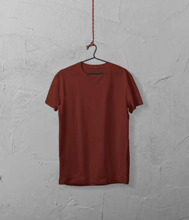 Photo for T-Shirt mockup template - Royalty Free Image