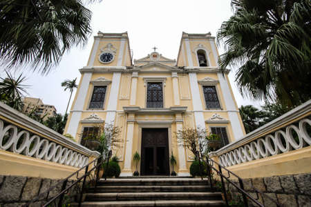 St  Lawrence Church is designation for the Historic Centre of Macau, was built in one of the most affluent neighborhood during the 1840 s, Sao Lourenco is a lovely neo-classical church
