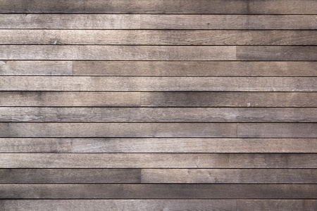 full frame background of worn grainy wooden planking