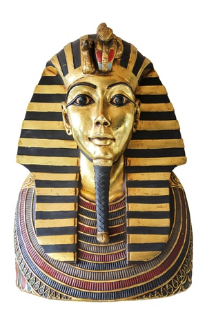 Modern copy of ancient egyptian Tutankhamen