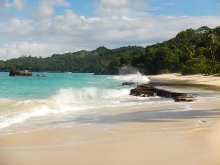 Rincon beach, Samana  penin