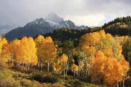 Foto de Mount Sneffels Range, Colorado, USA - Imagen libre de derechos