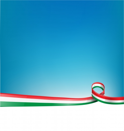 background with Italian flag