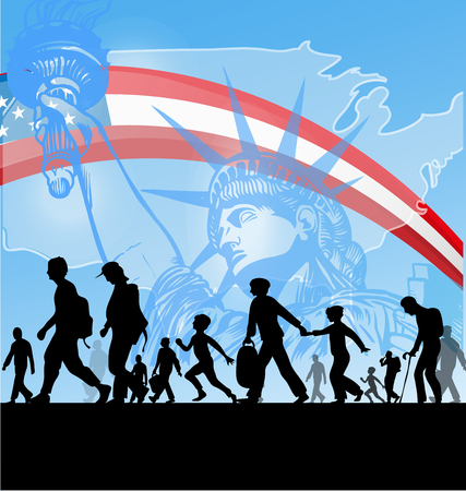 american people immigration background