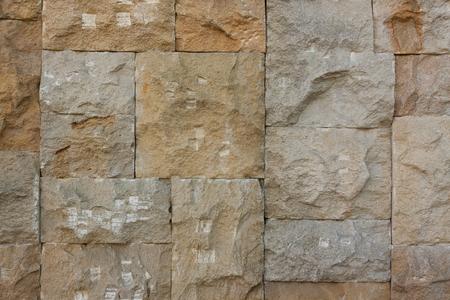 Photo pour Chipped Stone Wall Background extreme closeup - image libre de droit