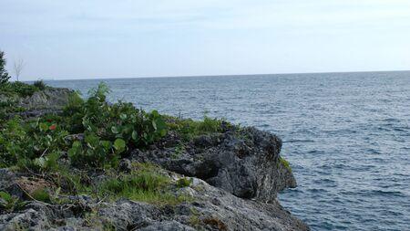 Beautiful landscape in Dominican Republic, fantastic relax view