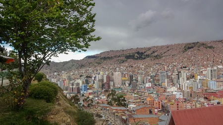 Bolivian El Alto and La Paz - amazing houses, old buildings and fantastic mountains and teleferico.