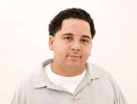 Puerto Rican Male Isolated