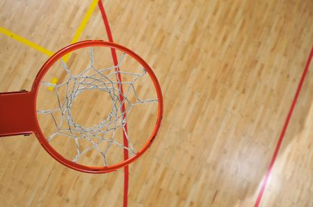 basketball ball indoor at school and gym