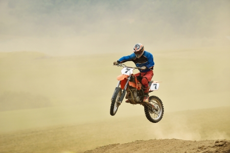 Motocross Bike Race