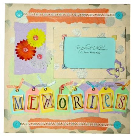 scrapbook album design