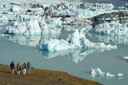 Jokulsarlon Glacier Lake in Iceland