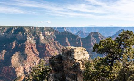 Beautiful Landscape of Grand Canyon from the north rim. Arizona US